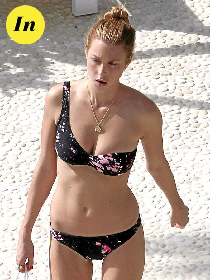 Le maillot asymétrique de Whitney Port : In !