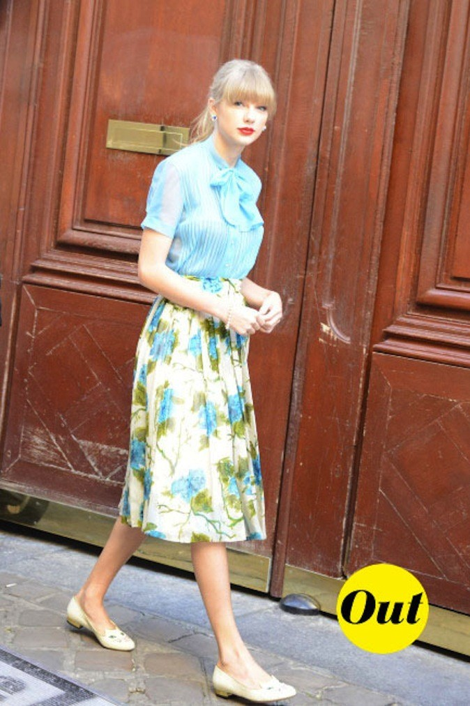 Taylor Swift à Paris