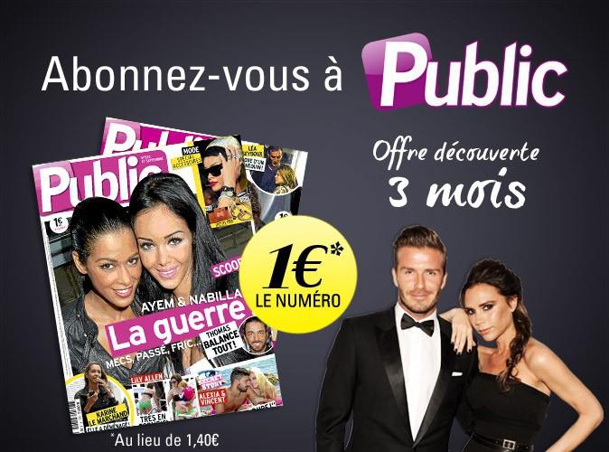 Abonnez-vous à Public ! Offre découverte : 1€ le numéro pendant 3 mois !