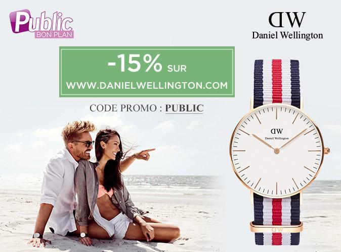 Bon Plan : -15% de réduction sur le e-shop de Daniel Wellington !