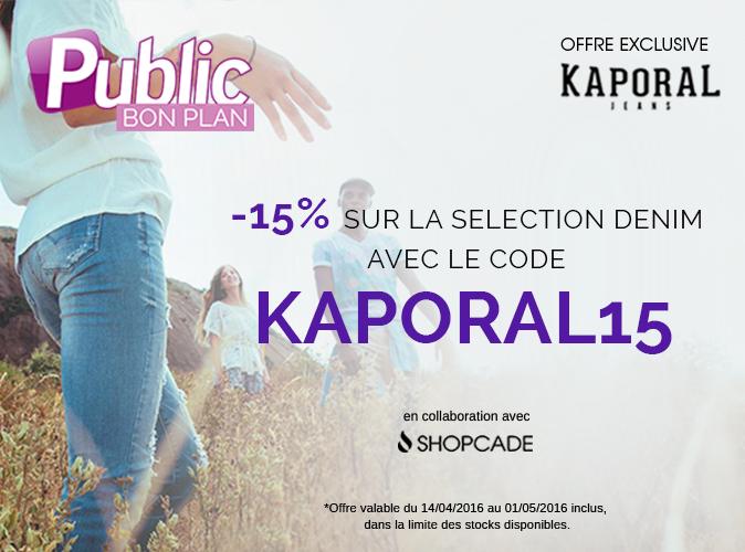 Bon Plan : -15% sur la sélection Jeans de Kaporal
