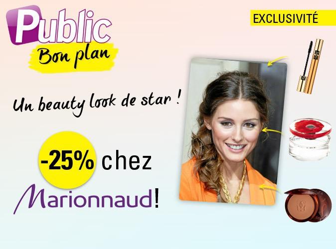 Bon plan : -25% avec notre code promo Marionnaud !