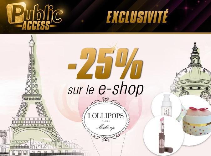 Bon plan : -25% sur le e-shop Lollipops !