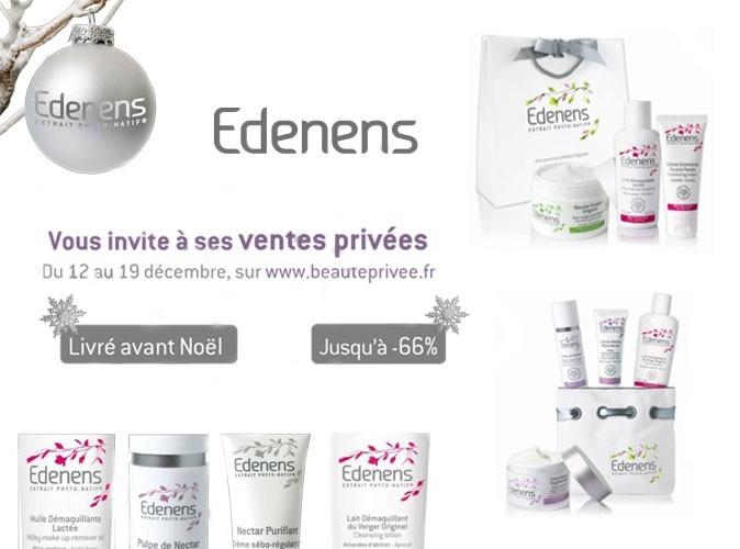 Bon plan beauté : des ventes privées chez Edenens !