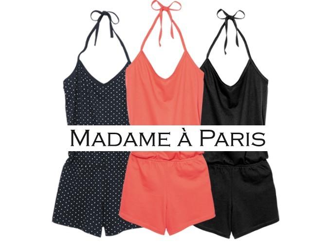 Bon plan mode : le combi-short Madame à Paris avec le magazine Public !