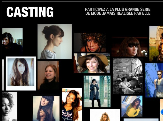 Bon plan mode : participez au grand casting de ELLE !