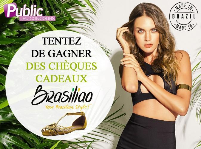 Jeu concours : Public et la marque de chaussures Brasiliao vous offrent des chèques cadeaux !