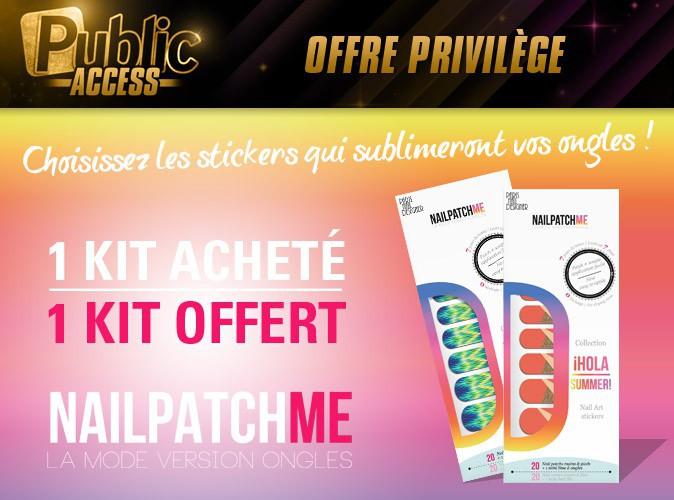 """Bon plan spécial """"Public Access"""" : 1 kit Nail Patch me offert pour 1 kit acheté !"""