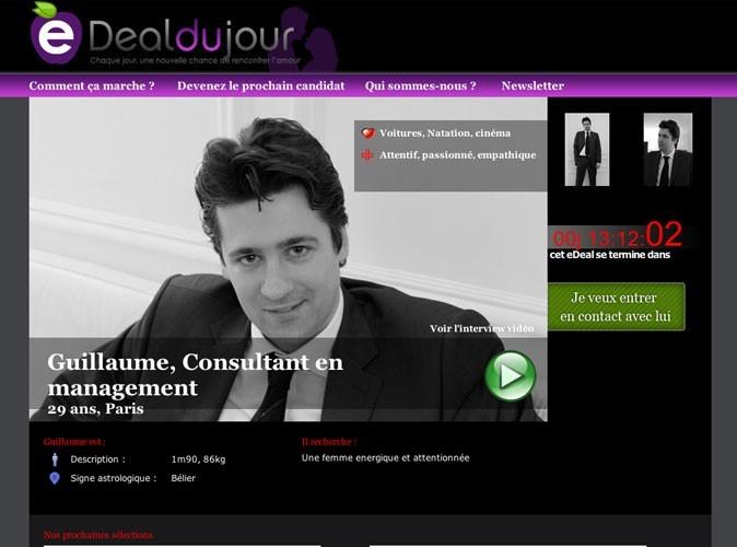 Bon plan : un célibataire par jour sur le site Edealdujour.com !