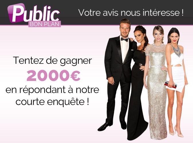 Gagnez 2000€ en donnant votre avis grâce à Public.fr !