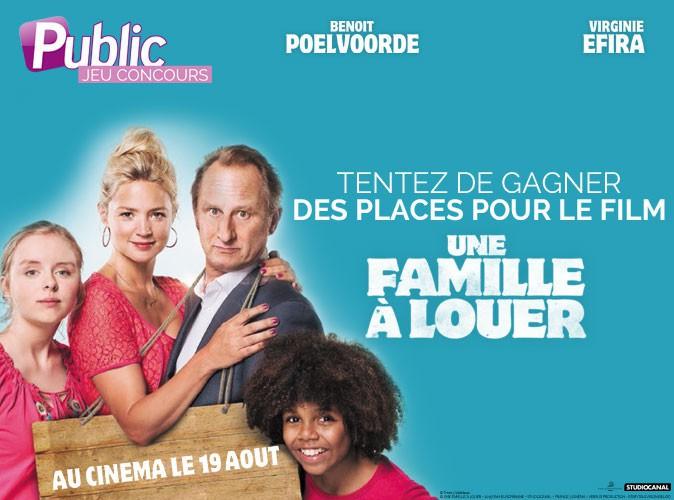 """Jeu concours : Gagnez vos places pour le film """"Une famille à louer"""" !"""