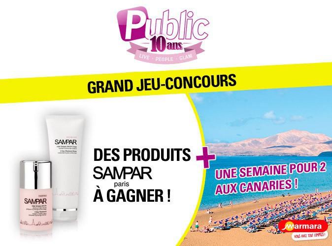 Grand Jeu-Concours : gagnez + de 2 900€ de produits SAMPAR et un voyage aux Canaries !