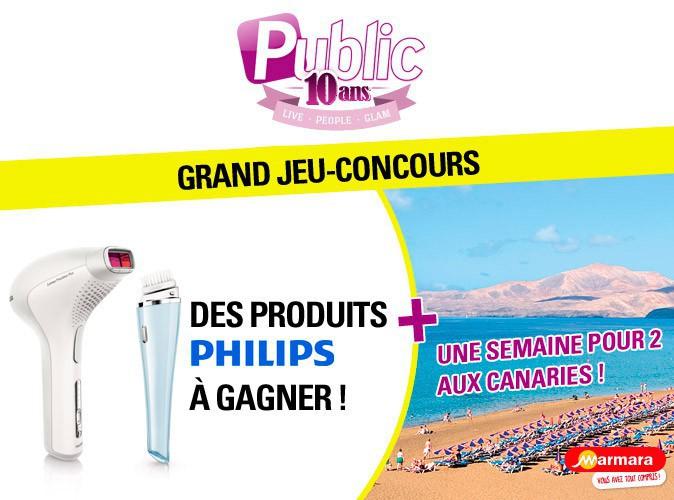 Grand Jeu-Concours : gagnez des produits PHILIPS et un voyage aux Canaries !