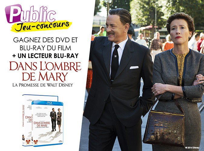 """Jeu concours : gagnez des lecteurs Blu Ray, ainsi que des DVD et Blu Ray du film """"Dans l'ombre de Mary"""" !"""