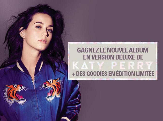 Jeu-concours : gagnez le nouvel album de Katy Perry !
