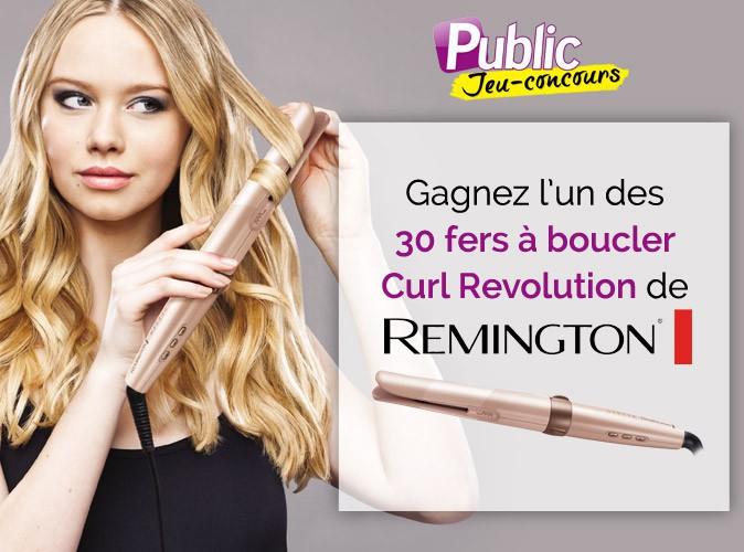 Jeu concours : gagnez un fer à boucler Curl Revolution de Remington !