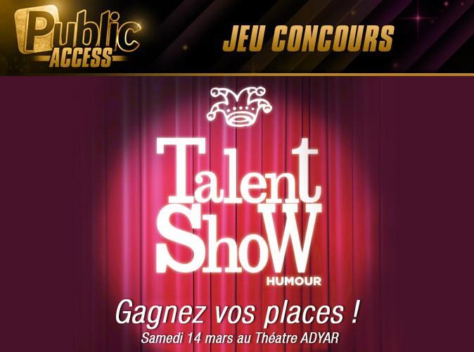 Jeu concours : gagnez vos places pour assister au Talent Show Humour !