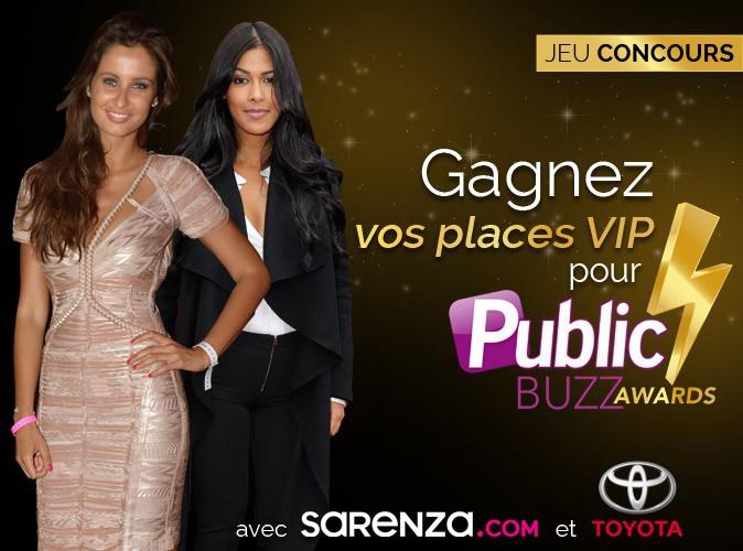 Jeu concours : gagnez vos places pour la cérémonie des Public Buzz Awards !