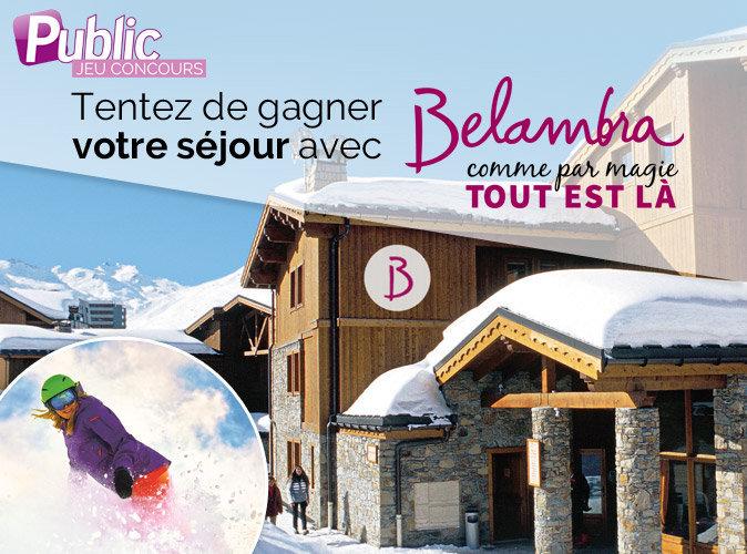 Jeu concours : Public vous offre un séjour en France avec Belambra !
