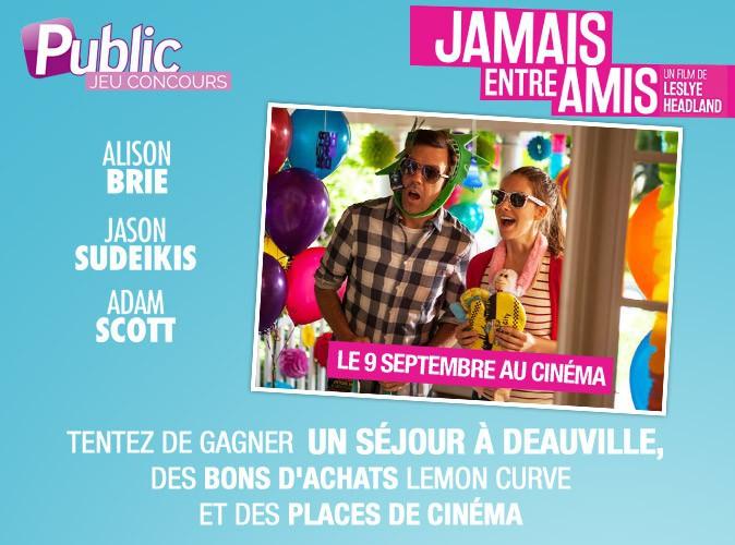 """Jeu concours : Tentez de gagner un weekend à Deauville avec le film """"Jamais entre amis"""" !"""