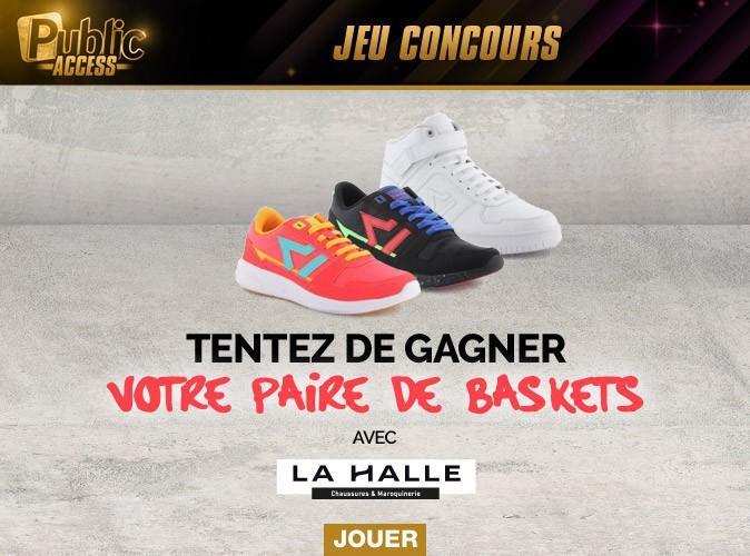 Jeu concours : tentez de gagner votre paire de baskets avec La Halle !