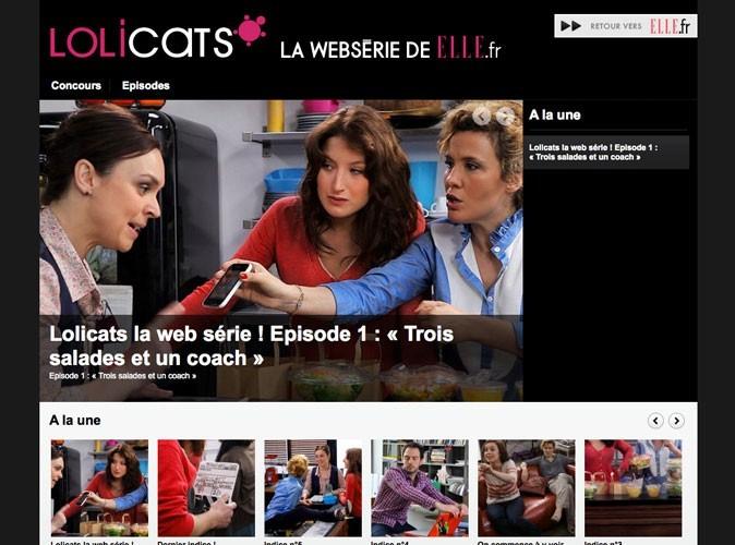 Lolicats : ELLE fait sa websérie !