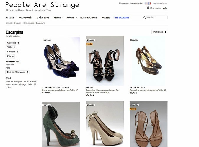 People Are Strange : du luxe à prix réduits !
