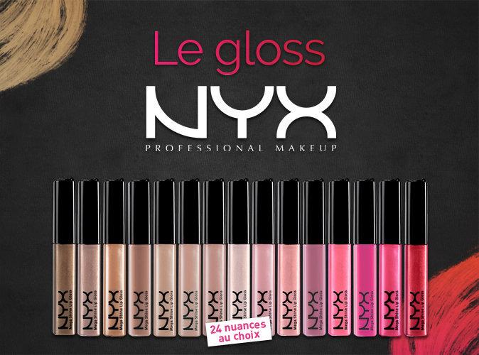 Plus produit : votre gloss NYX Cosmetics avec votre magazine Public !