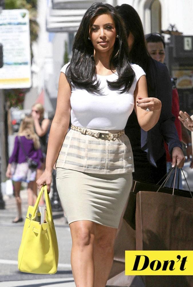 Le sac Birkin fluo de Kim Kardashian