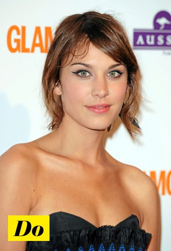Do l'eye-liner rock comme Alexa Chung !