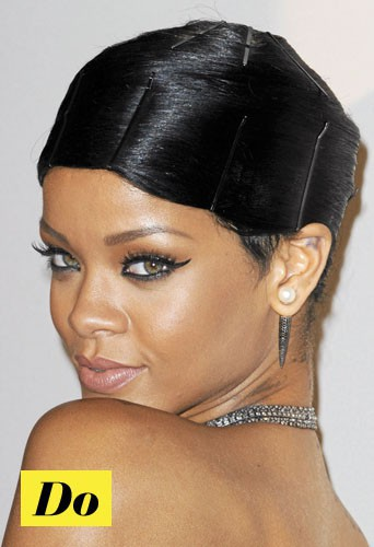 Do l'eye-liner rock comme Rihanna !