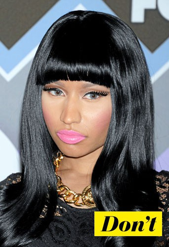 Don't l'eye-liner rock comme Nicki Minaj !