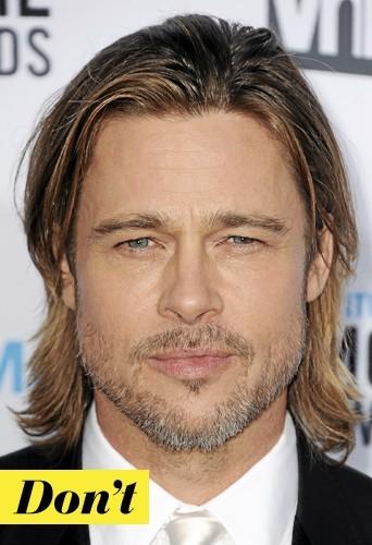 Les cheveux longs version Brad Pitt : Do !