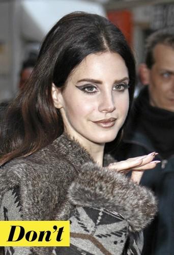 Lana Del Rey et son maquillage ? Don't !