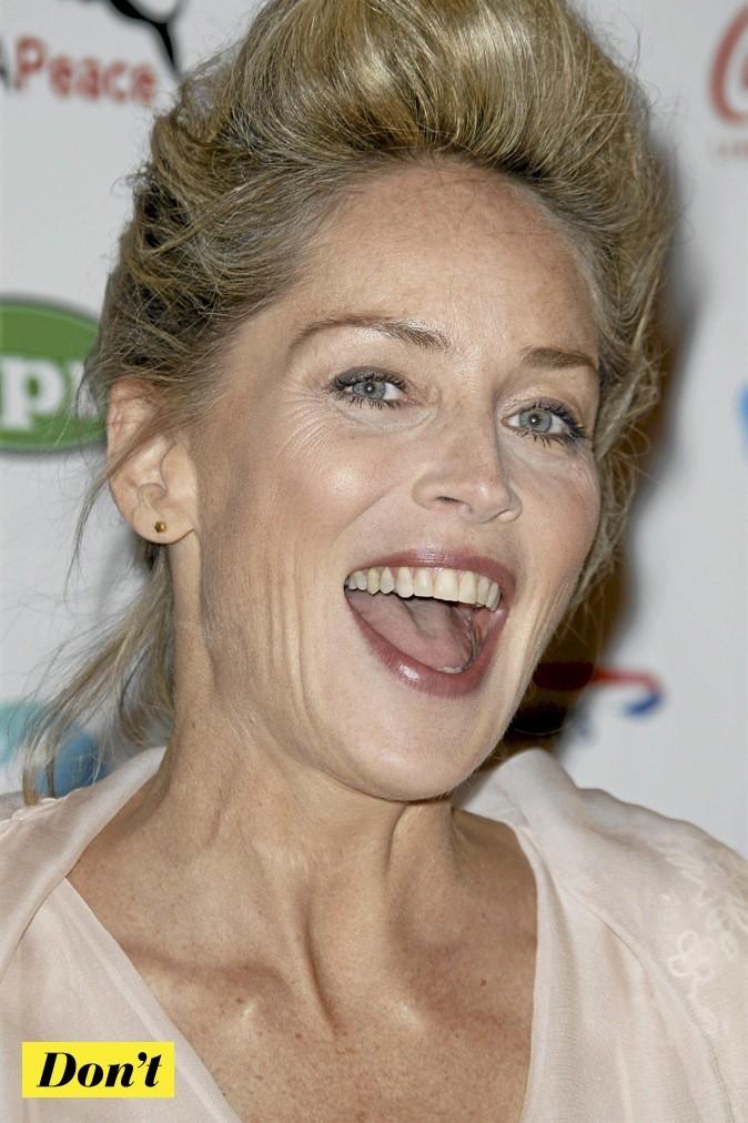 Sharon Stone : elle vieillit !