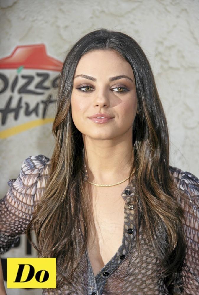 Mila Kunis a les sourcils bien dessinés !
