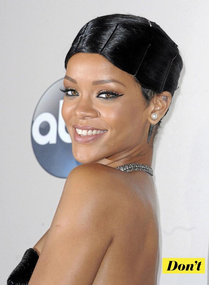 Ne suivez pas l'exemple de Rihanna !