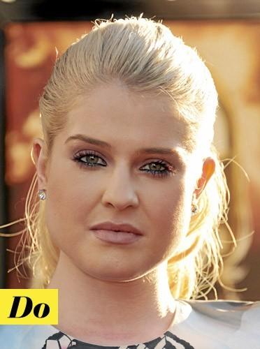 Le make-up rose de Kelly Osbourne !