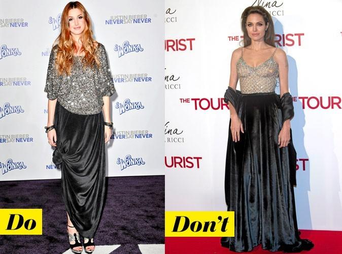 Look de star : comment porter la jupe longue ?