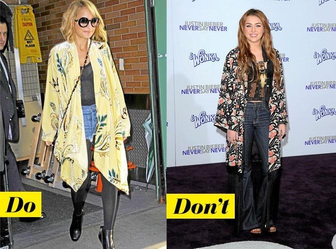 Look de star : comment porter la veste kimono ?