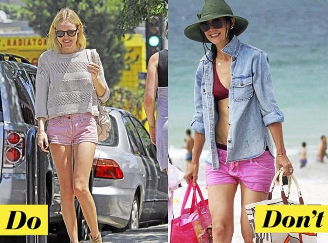 Look de star été 2011 : comment porter le short rose ?