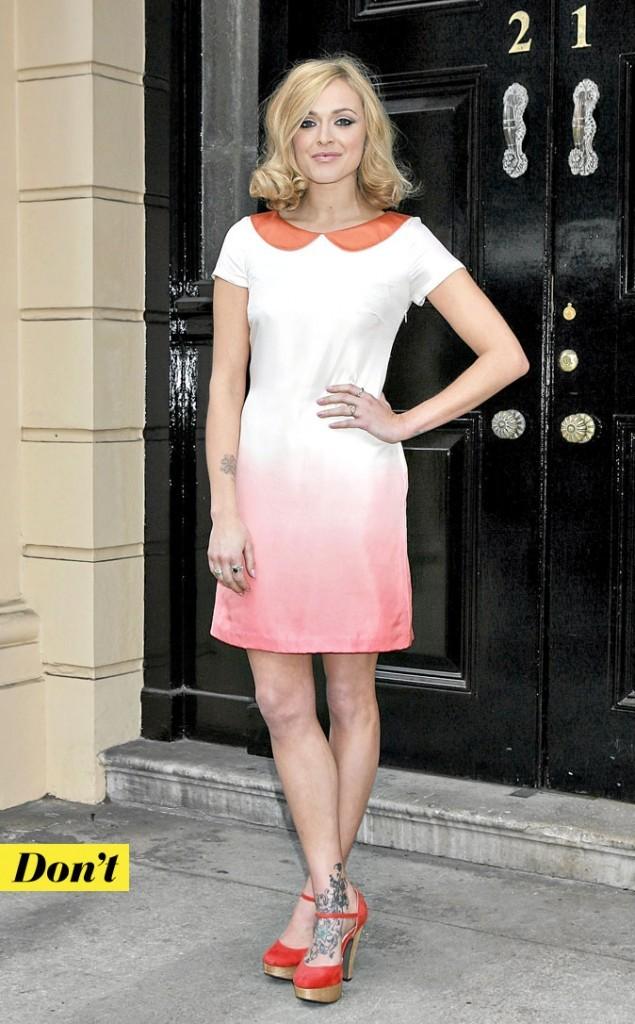 La robe col Claudine deFearne Cotton : Don't !