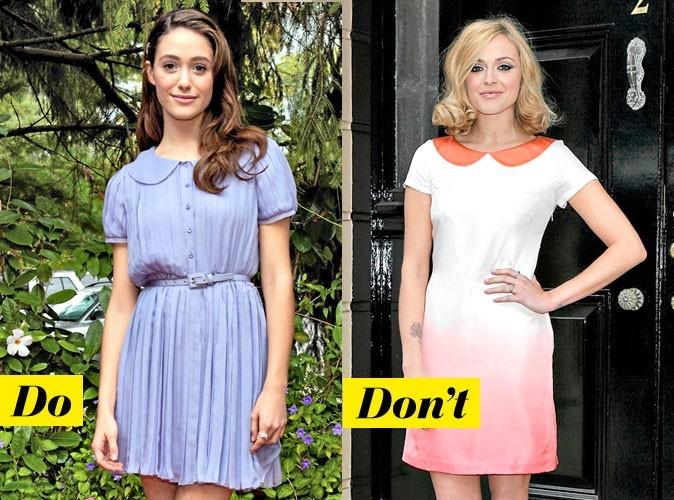 Look de star : mode d'emploi de la robe col Claudine