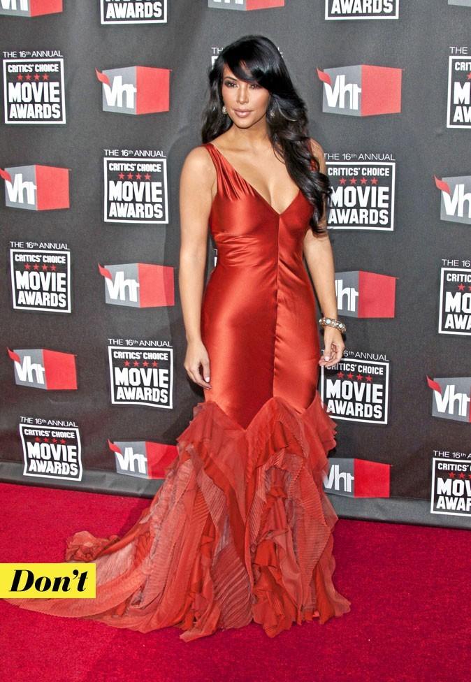 Look de star : la robe fourreau de Kim Kardashian