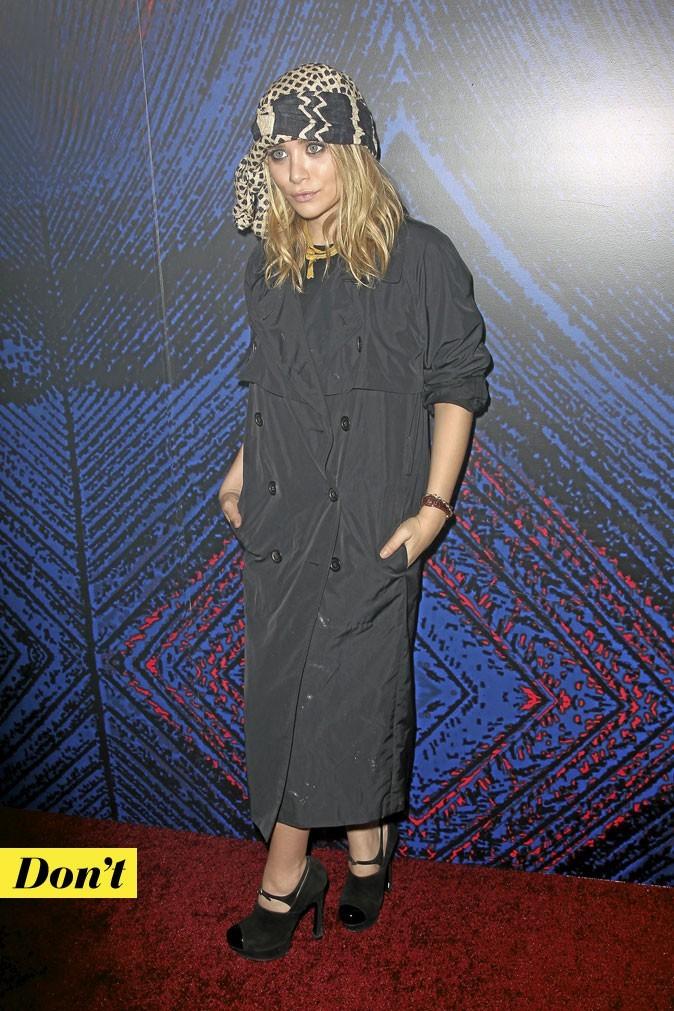 Tendance mode années 70 : le bandeau ethnique d'Ashley Olsen