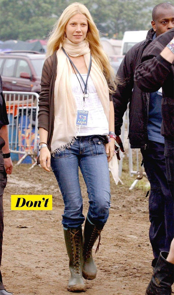 Gwyneth Paltrow à Glastonbury