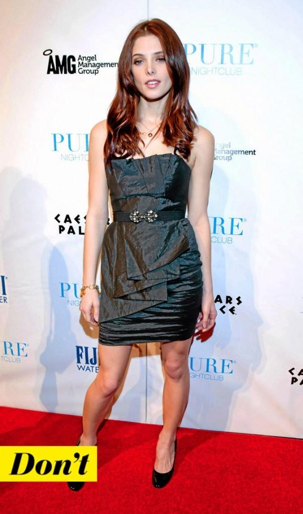 La petite robe noire d'Ashley Greene !