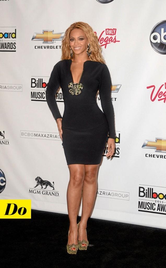 La petite robe noire de Beyoncé Knowles !