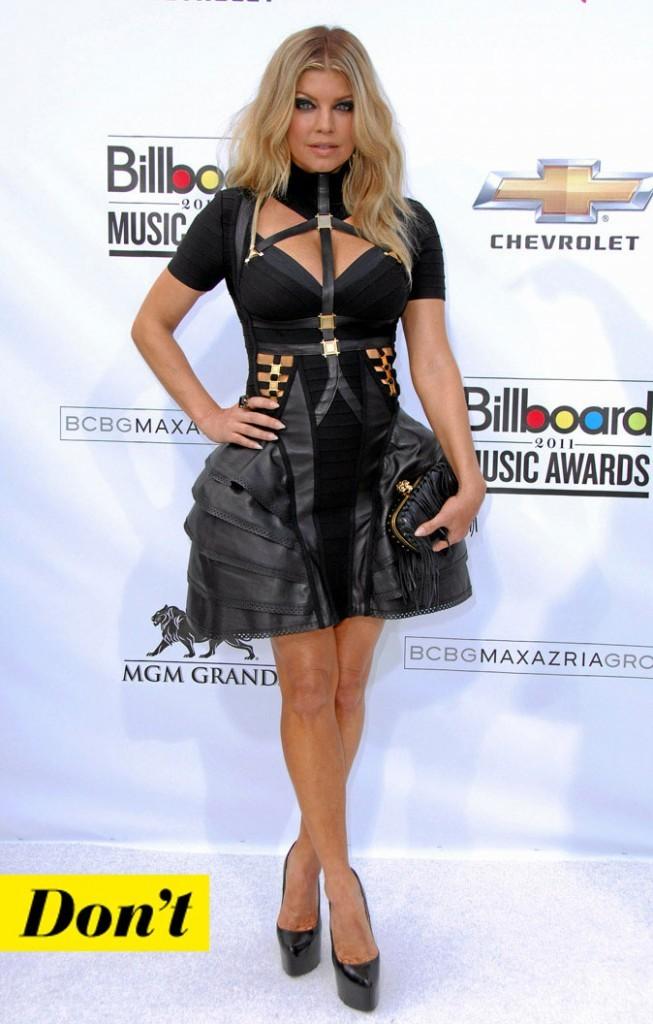 La petite robe noire de Fergie !