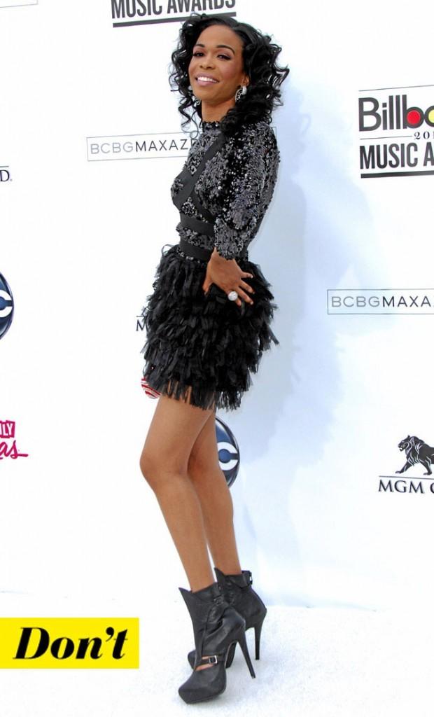 La petite robe noire de Michelle Williams !